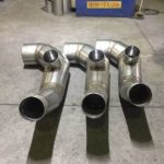 Hitachi 4500 Air Intake - Stainless Steel Production 1